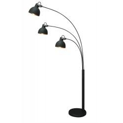 LAMPA STOJĄCA ANTENNE, antenne, TS-140123F-BKGO, Zuma Line, oświetlenie, lampy stojące, lampa do salonu, lampy do salonu