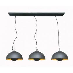LAMPA WISZĄCA ANTENNE, antenne, TS-120404P-BKGO, Zuma Line, lampy, lampy wiszące, dekorplanet, oświetlenie