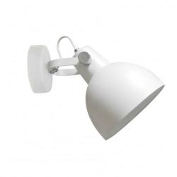LAMPA ŚCIENNA CANDE TS-140605W-WH Zuma Line, KINKIET, BIAŁA LAMPA, NOWOCZESNA, METALOWA, DO SYPIALNI
