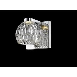 LAMPA ŚCIENNA, AURELIA, kinkiet, kinkiety, W0404-01A-B5AC, Zuma Line, lampy, lampy ścienne, oświetlenie