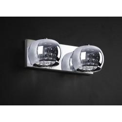 LAMPA ŚCIENNA CRYSTAL W0076-02A-B5FZ Zuma Line