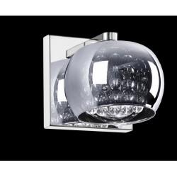 LAMPA ŚCIENNA CRYSTAL W0076-01A-B5FZ Zuma Line