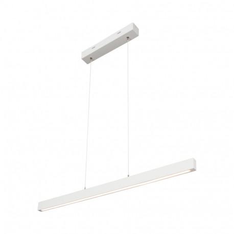 SMAL 1 LED 1509642 SPOT LIGHT, LAMPA DREWNIANA LED BIAŁA, BIAŁA LAMPA LED, DREWNIANA LAMPA LED, NOWOCZESNA LAMPA WISZĄCA