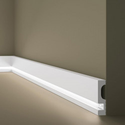IL11 NMC, LISTWA PRZYPODŁOGOWA LED, LISTWY PRZYPODŁOGOWE LEDOWE, OŚWIETLENIOWE LISTWY PODŁOGOWE, BIAŁE LISTWY LED, LISTWA LED NA