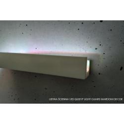 LISTWY OŚWIETLENIOWE LIGHT GUARD, QL021P MARDOM DECOR, Light Guard LISTWA LED MALOWANA, BIAŁA LISTWA LEDOWA, MAŁA LISTWA LEDOWA,