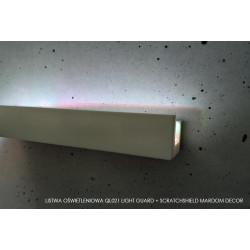 LISTWA OŚWIETLENIOWA, QL021 MARDOM DECOR Light + Guard ScratchShield, LISTWY ŚCIENNE LED, LISTWY ŚCIENNE MARDOM, LISTWY POLIMERO