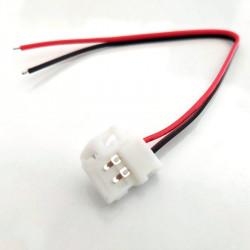 ZŁĄCZKA LED JEDNOSTRONNA, ZŁĄCZENIE LED, KONEKTOR LED SMD3528, ZŁĄCZNIK LED 8MM, ZŁĄCZA LEDOWE,