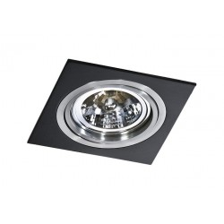Lampa SIRO 1 GM2101Black/ Aluminium metal / Azzardo
