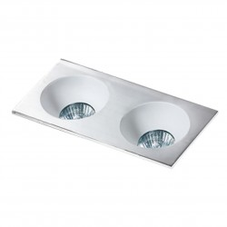 Lampa HUGO 2 Downlight bez wkładu GM2203 Downlight aluminium / alu Azzardo