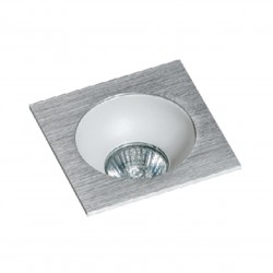 Lampa HUGO 1 Downlight bez wkładu GM2118S Downlight chrome / alumi Azzardo