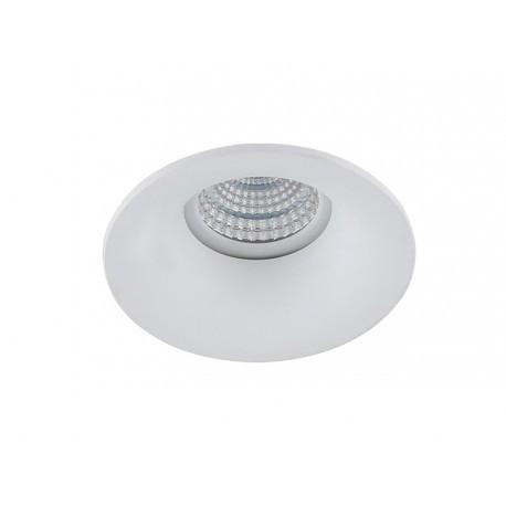 Lampa ADAMO MIDST NC1825-M-W White / aluminium IP2 Azzardo