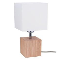 TRONGO 7191174 DREWNIANA LAMPA STOJĄCA SPOTLIGHT