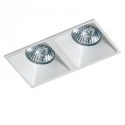 Lampa PIO 2 GM2208 White / aluminium IP20 Azzardo