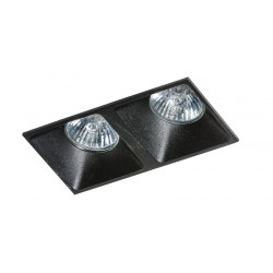 Lampa PIO 2 GM2208 Black / aluminum IP20 Azzardo