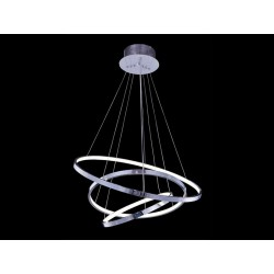 Lampa WHEEL 3 BIG pendant MP57011-BA-3 chrome chrome/metal Azzardo