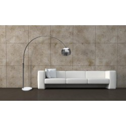 Lampa TOSCA floor TS 010121MM satin nickel/ white Azzardo