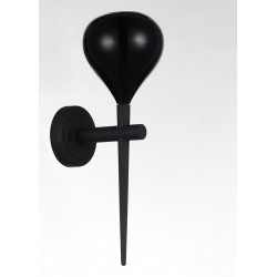 Lampa AGA wall MB1289 black /black metal / gla Azzardo
