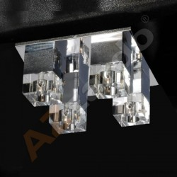 Lampa BOX 4 top MX 8515-4 metal/glass chrome/cle Azzardo