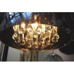 Lampa BURN 2 top LP/LC 5204-M metal/glass chrome/ Azzardo