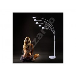 Lampa PALP floor TS 5805 shiny white metal Azzardo