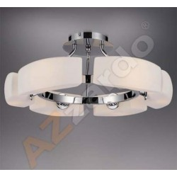 Lampa FIONA TOP top MC 1029-6 chrome/white metal/gla Azzardo